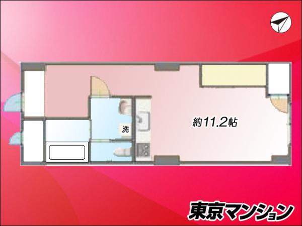 中古マンション 渋谷区渋谷4丁目3-17 銀座線表参道駅 2800万円