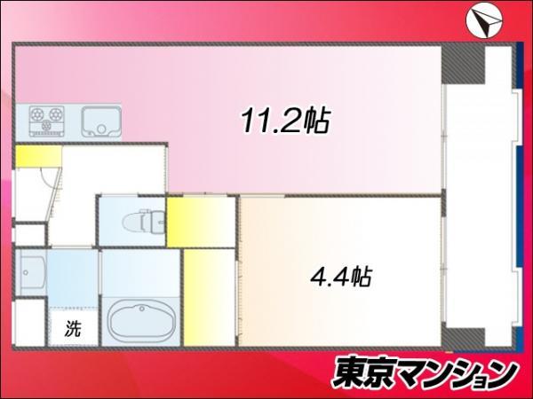 中古マンション 台東区浅草2丁目27-15 つくばエクスプレス浅草駅 2580万円