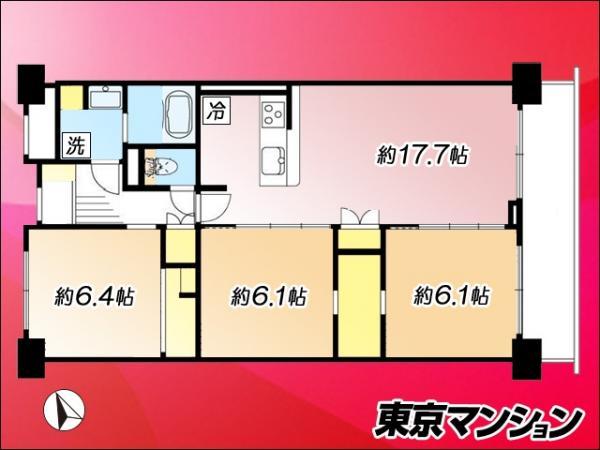 中古マンション 港区芝浦4丁目4-27 JR山手線田町駅  6390万円