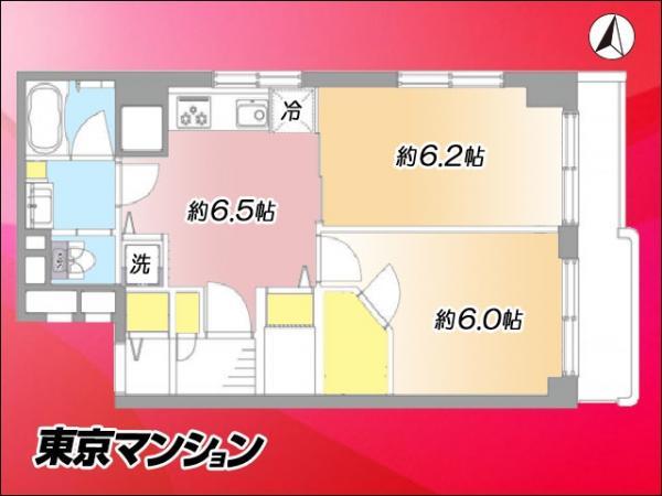 中古マンション 江東区亀戸1丁目42-14 JR中央・総武線亀戸駅 2999万円