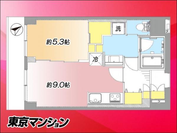 中古マンション 江東区亀戸9丁目5-20 東武亀戸線亀戸駅 2599万円