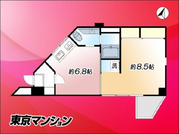 中古マンション 豊島区池袋本町4丁目45-5 JR埼京線板橋駅  2190万円