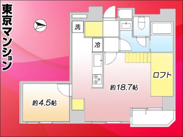 中古マンション 荒川区東日暮里6丁目 JR常磐線(上野〜取手)三河島駅 3180万円