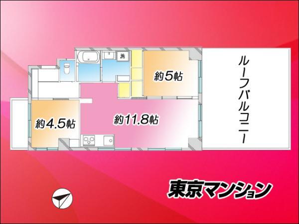 中古マンション 墨田区向島3丁目20-1 半蔵門線押上駅 3299万円