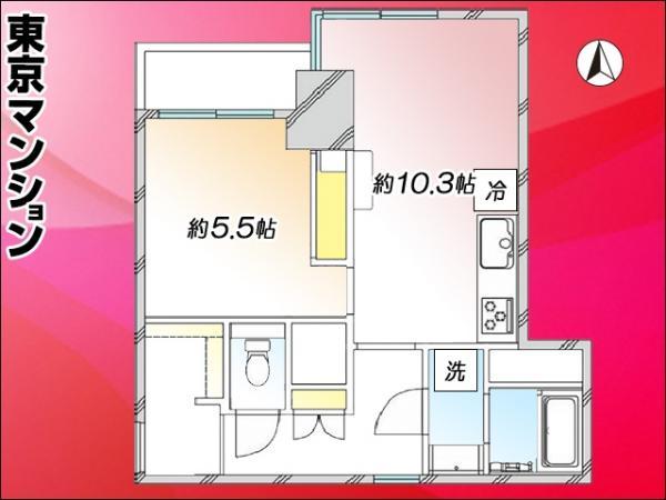 中古マンション 台東区千束2丁目36-6 日比谷線入谷駅 2999万円