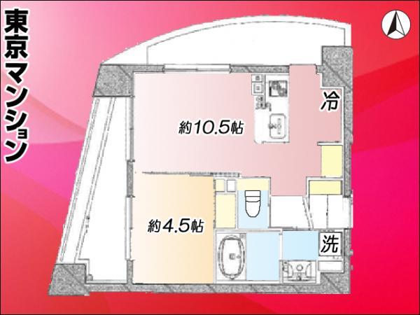 中古マンション 練馬区豊玉上2丁目21-9 西武池袋線桜台駅 2980万円