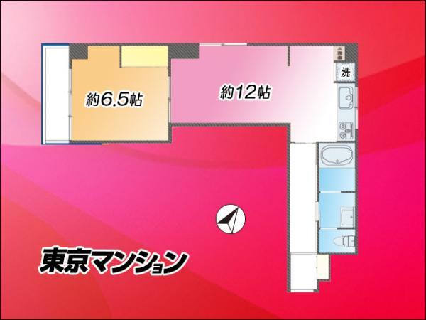 中古マンション 品川区東品川1丁目6-14 JR山手線品川駅 2630万円