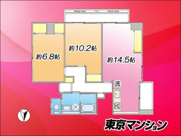 中古マンション 渋谷区代官山町3-13 東急東横線代官山駅 6580万円