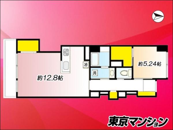 中古マンション 世田谷区松原1丁目53-5 京王線明大前駅  2080万円