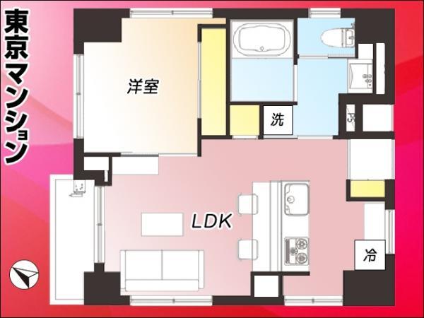 中古マンション 台東区下谷3丁目17-5 日比谷線三ノ輪駅 2580万円