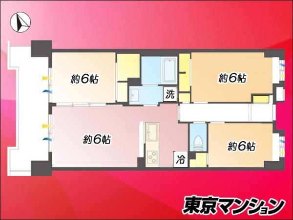中古マンション 港区海岸2丁目3-5 JR山手線浜松町駅 5480万円