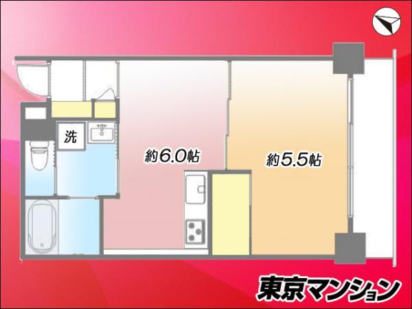 中古マンション 北区上十条4丁目2-16 JR埼京線十条駅 2680万円