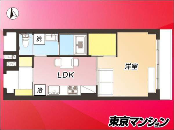 中古マンション 港区西麻布2丁目24-25 日比谷線広尾駅 3680万円