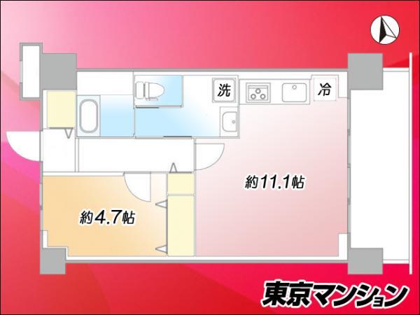 中古マンション 大田区羽田1丁目 京急空港線穴守稲荷駅 2099万円