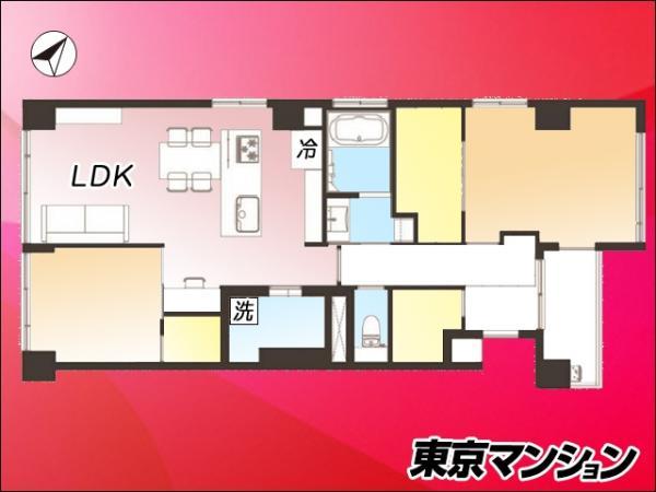 中古マンション 港区南青山4丁目18-8 半蔵門線表参道駅 8480万円