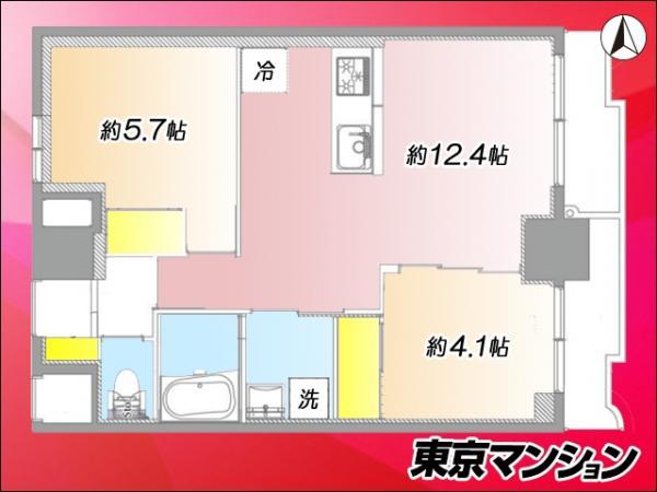 中古マンション 台東区浅草3丁目42-7 つくばエクスプレス浅草駅 3999万円
