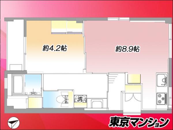 中古マンション 豊島区駒込4丁目9-29 JR山手線巣鴨駅 2299万円