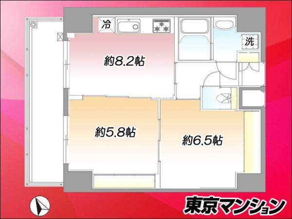 中古マンション 台東区浅草5丁目37-5 つくばエクスプレス浅草駅 4199万円