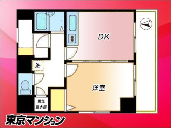 中古マンション 墨田区緑4丁目24-19 JR総武本線錦糸町駅 2280万円