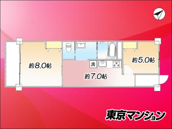 中古マンション 目黒区青葉台4丁目 JR山手線渋谷駅 3380万円