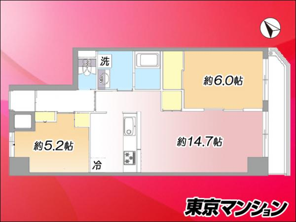 中古マンション 大田区山王1丁目44-11 JR京浜東北線大森駅 4199万円