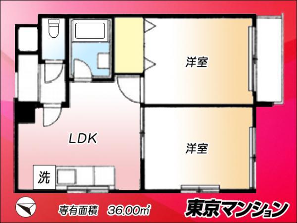 中古マンション 目黒区下目黒3丁目10-32 JR山手線目黒駅 2190万円