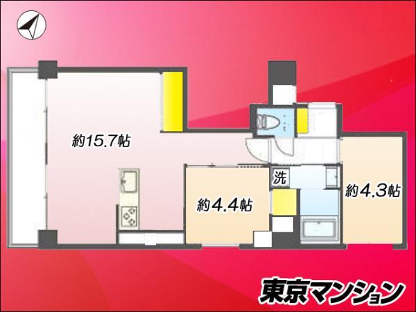 中古マンション 台東区千束3丁目29-11 日比谷線三ノ輪駅 2880万円