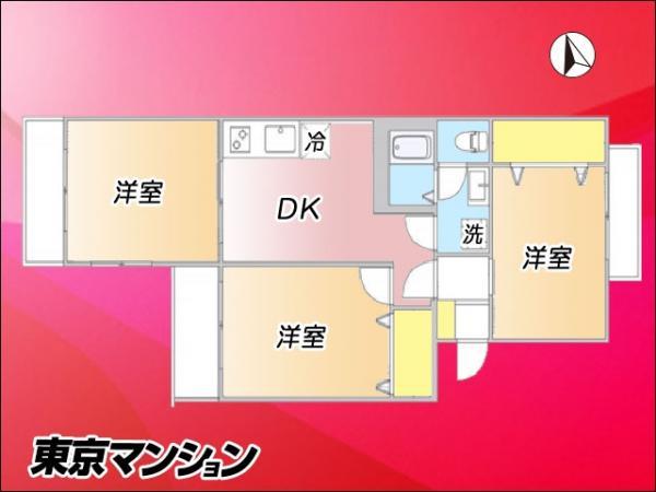 中古マンション 板橋区南常盤台2丁目11番19号 東武東上線ときわ台駅 2480万円