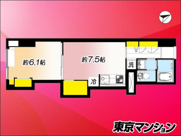 中古マンション 杉並区下高井戸2丁目10-3 京王線桜上水駅 1999万円