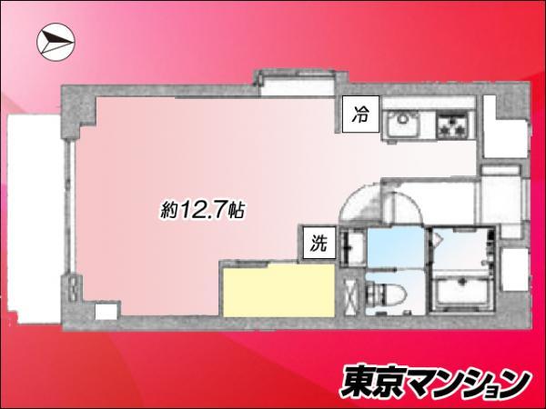 中古マンション 墨田区亀沢4丁目7-10 JR中央・総武線錦糸町駅 2600万円
