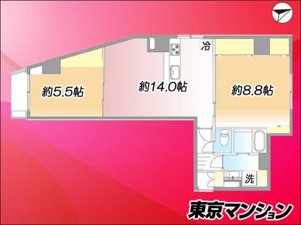 中古マンション 豊島区駒込3丁目23-14 JR山手線駒込駅 3799万円