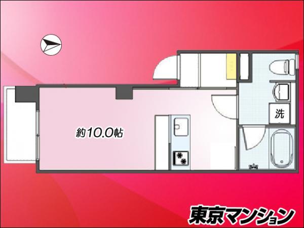 中古マンション 世田谷区赤堤2丁目3-4 小田急線豪徳寺駅 1580万円