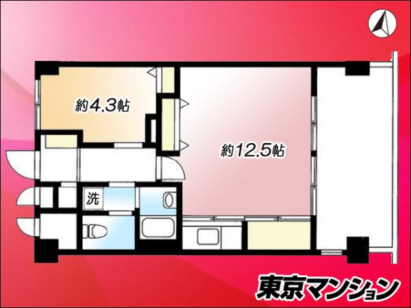 中古マンション 港区虎ノ門3丁目22-7 日比谷線神谷町駅 3590万円