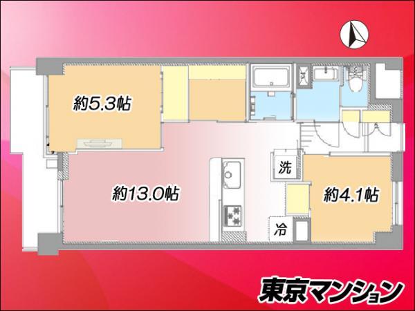 中古マンション 練馬区関町南4丁目16-21 西武新宿線武蔵関駅 2999万円