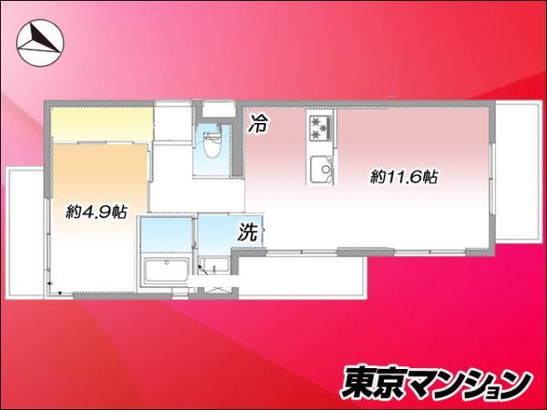 中古マンション 渋谷区神泉町16-11 京王井の頭線神泉駅 4699万円