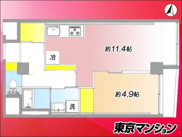 中古マンション 中野区江古田4丁目23-1 西武新宿線沼袋駅 2399万円
