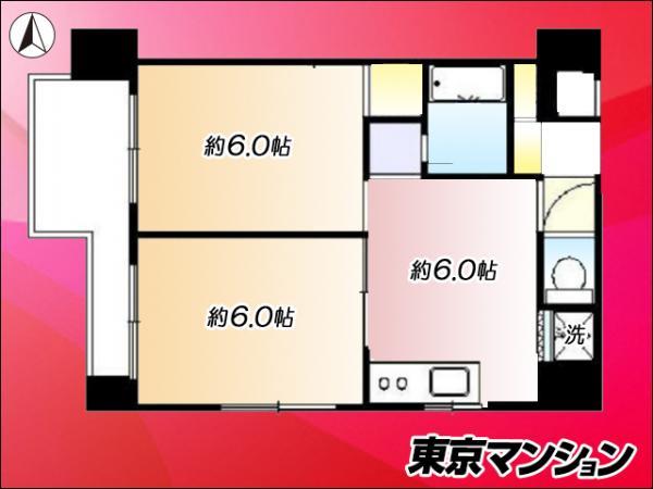 中古マンション 練馬区南田中4丁目9-21 西武新宿線井荻駅 1720万円