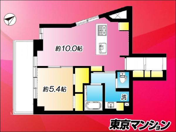 中古マンション 豊島区駒込1丁目15-1 JR山手線駒込駅 2688万円