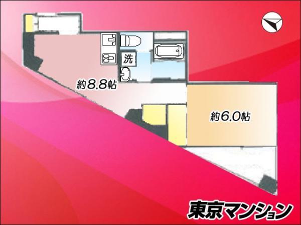 中古マンション 港区芝4丁目5-15 JR山手線田町駅 3180万円