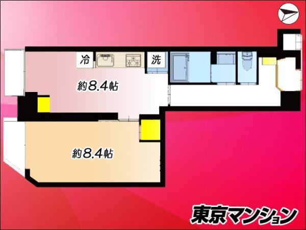 中古マンション 台東区千束1丁目1-1 日比谷線入谷駅 2990万円