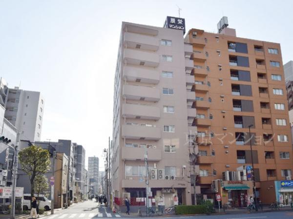 中古マンション 台東区蔵前3丁目19-8 都営大江戸線蔵前駅 3399万円