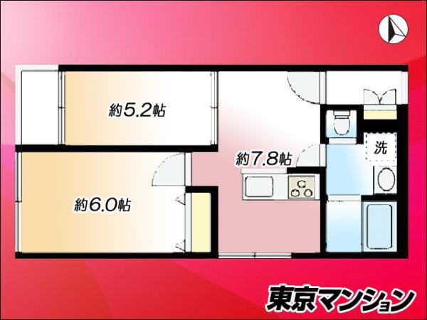中古マンション 大田区中馬込1丁目 都営浅草線馬込駅 2290万円