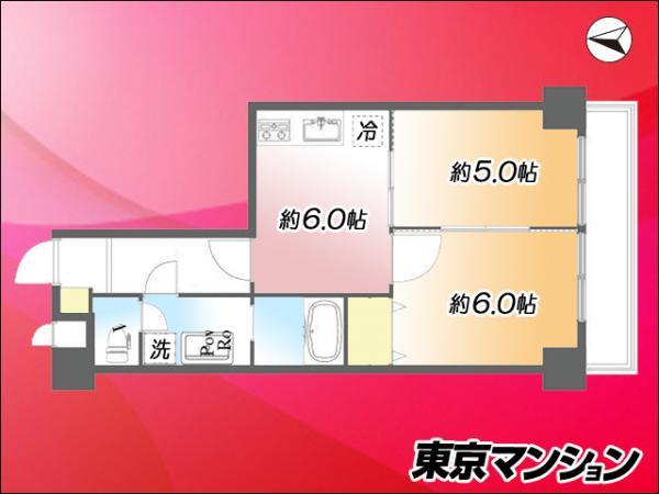 中古マンション 墨田区亀沢4丁目10-10 JR中央・総武線錦糸町駅 2999万円