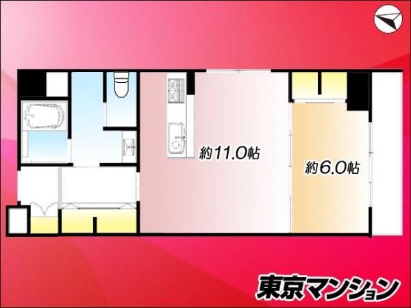 中古マンション 中央区新川1丁目 日比谷線八丁堀駅 3599万円