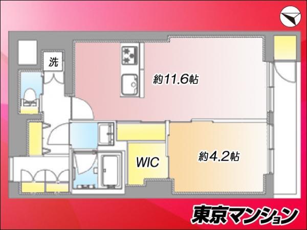中古マンション 世田谷区北沢3丁目 小田急線東北沢駅 4299万円