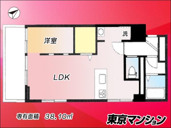 中古マンション 杉並区荻窪5丁目 JR中央・総武線荻窪駅 3180万円