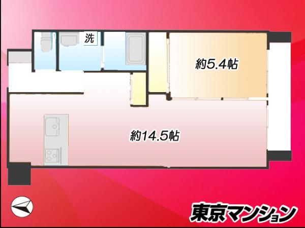 中古マンション 北区昭和町3丁目 JR東北本線(宇都宮線)尾久駅 2222万円