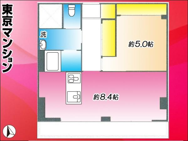中古マンション 杉並区西荻南2丁目18-17 JR中央線西荻窪駅 2580万円