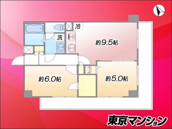 中古マンション 大田区大森西7丁目 JR京浜東北線蒲田駅 3380万円