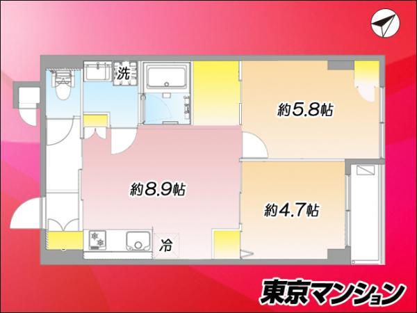 中古マンション 北区王子1丁目 JR京浜東北線王子駅 2799万円
